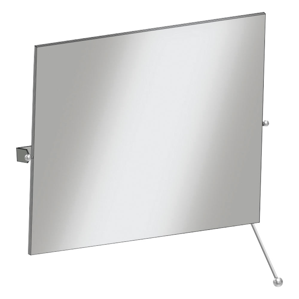 Franke Contina CNTX91 Wall Mounted Tiltable Stainless Steel Mirror