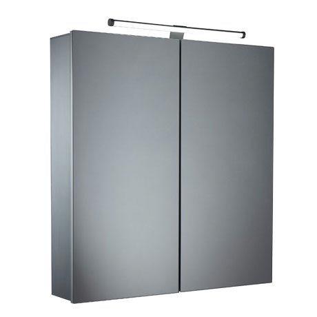Tavistock Conduct Double Door Mirror Cabinet with LED Light