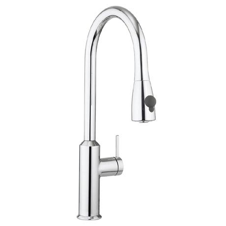 Crosswater - Cucina Cook Side Lever Kitchen Mixer with Pull Out Spray - Chrome - CO716DC
