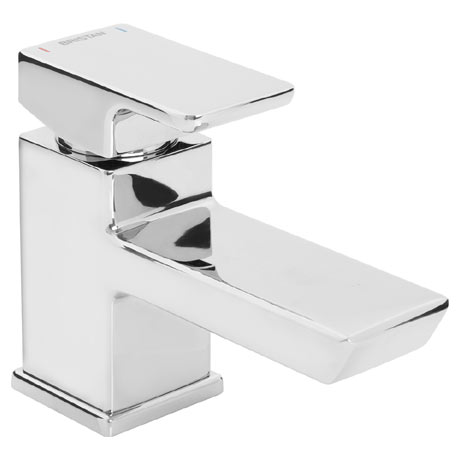 Bristan - Cobalt Monobloc Basin Mixer with Clicker Waste - COB-BAS-C