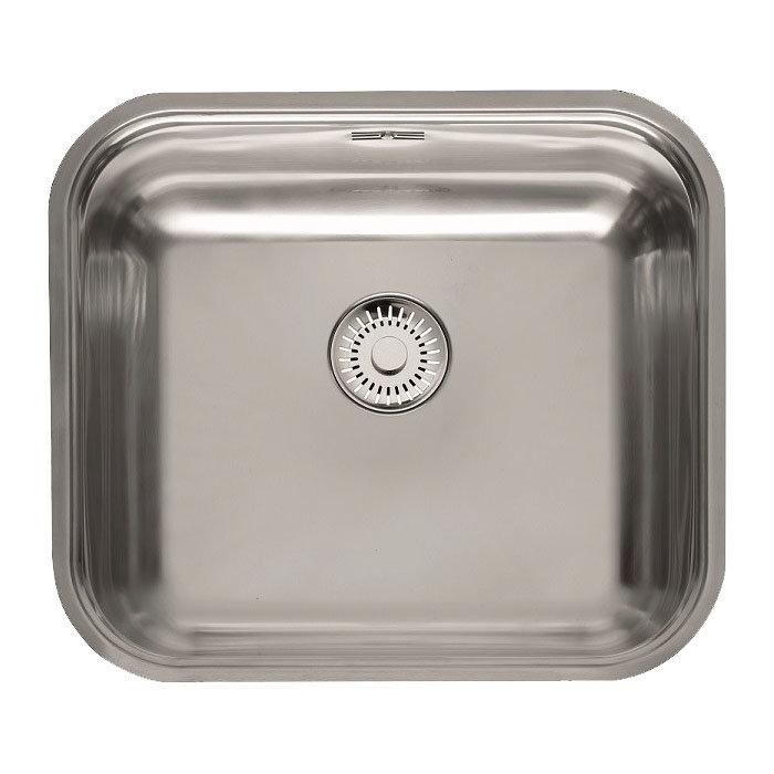 Reginox Colorado Comfort 1.0 Bowl Stainless Steel Inset/Undermount Kitchen Sink