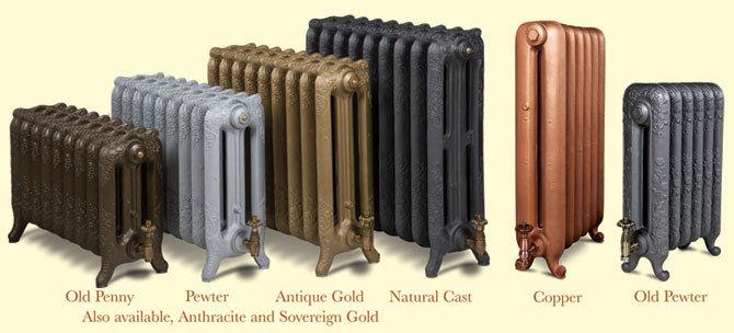 Numerous Paladin radiator finishes