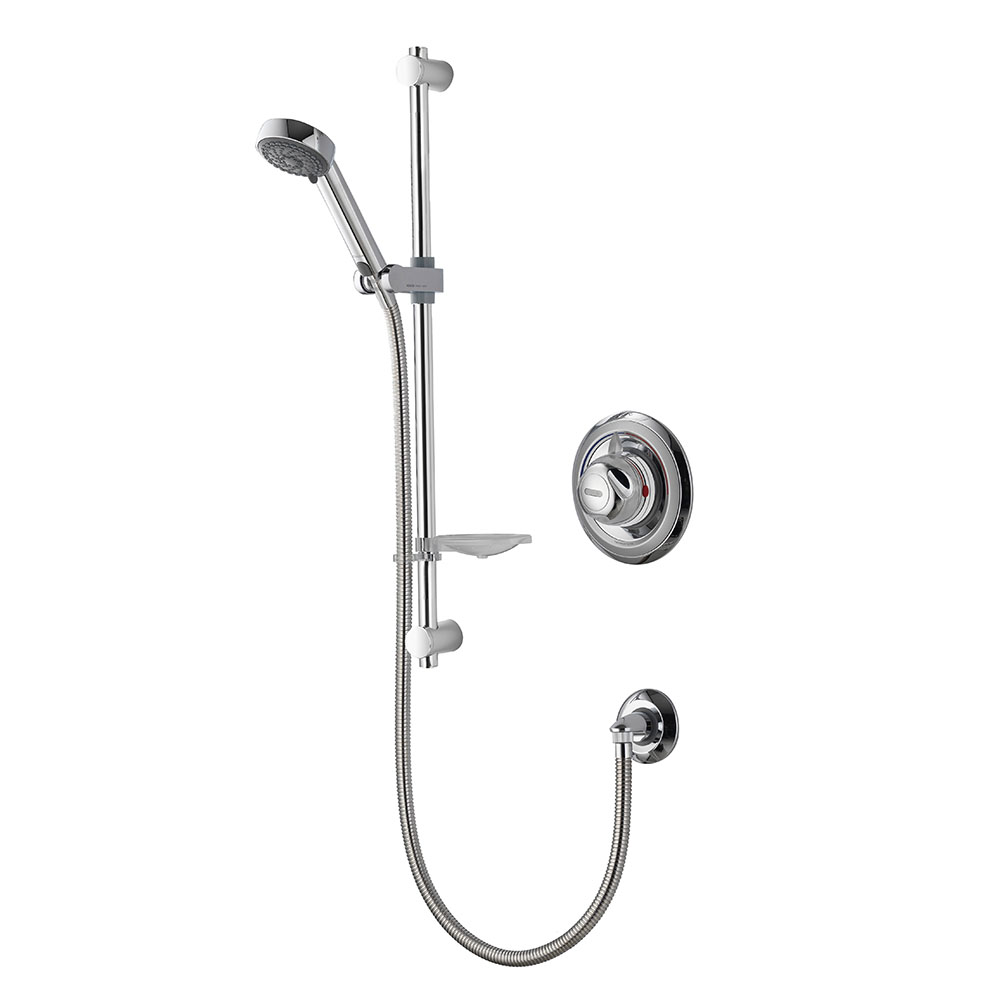 Aqualisa - Colt Concealed Thermostatic Shower Valve with Slide Rail Kit - COLT001CA