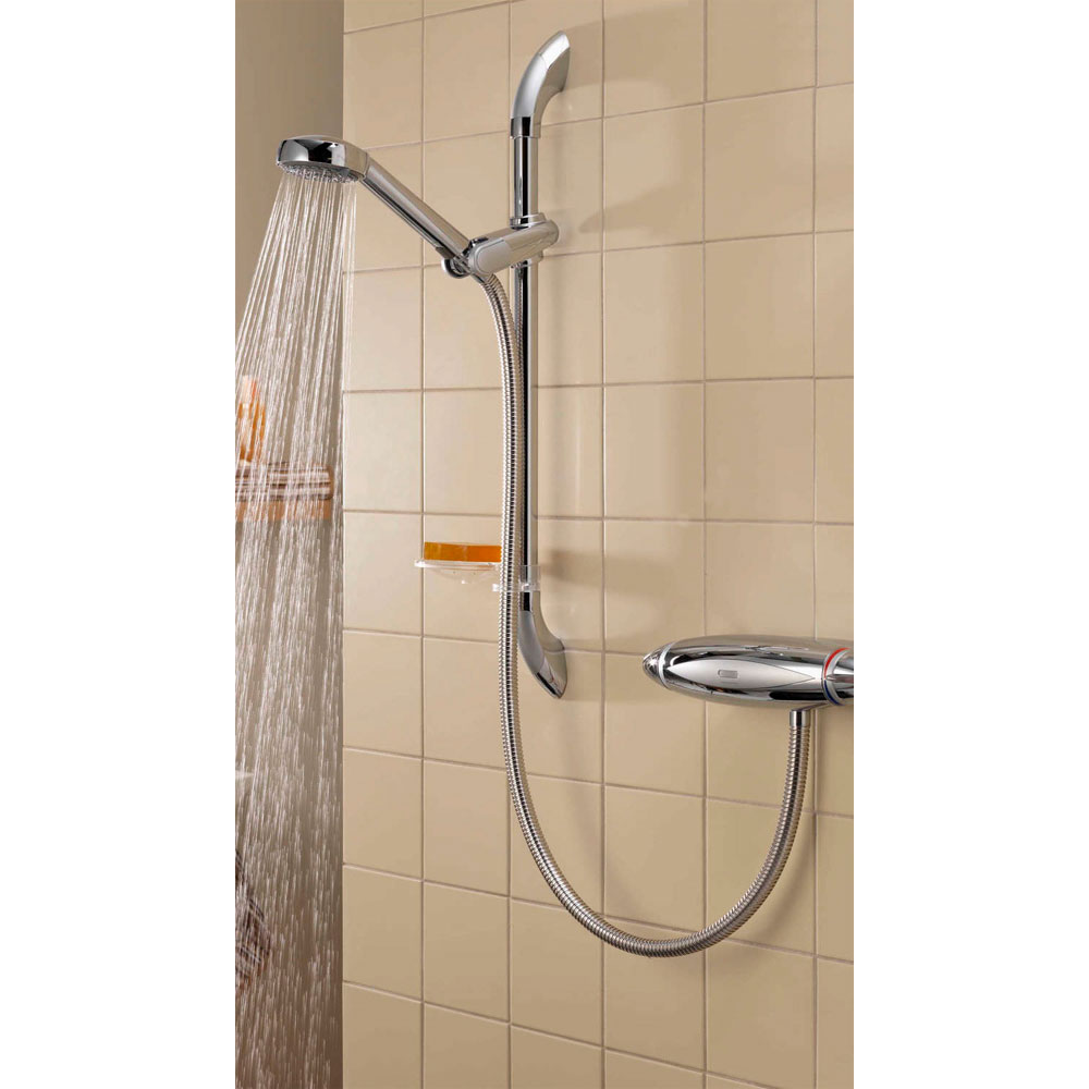 Aqualisa - Colt Exposed Thermostatic Shower Valve with Slide Rail Kit - COLT001EA profile large image view 4