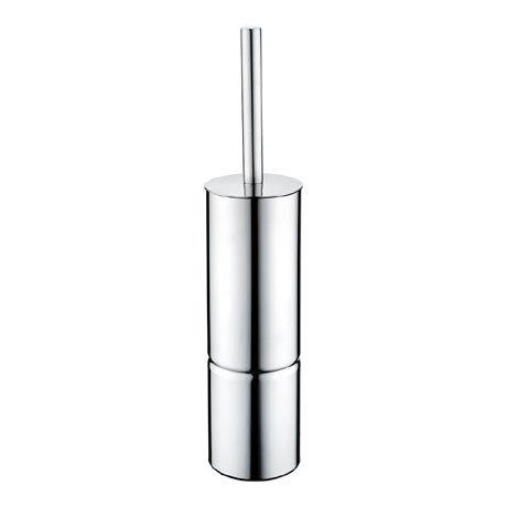 Bristan Freestanding Metal Toilet Brush + Holder