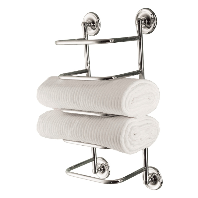 Bristan Complementary Towel Stacker | Trendy Ways To Tackle Towel Storage | Victorian Plumbing