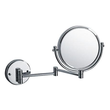 "Bristan 8"" Wall Mounted Cosmetic Mirror - COMP-WMMR-C"