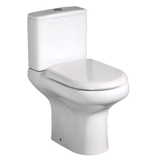 RAK Compact Close Coupled Toilet with Soft Close Seat Large Image