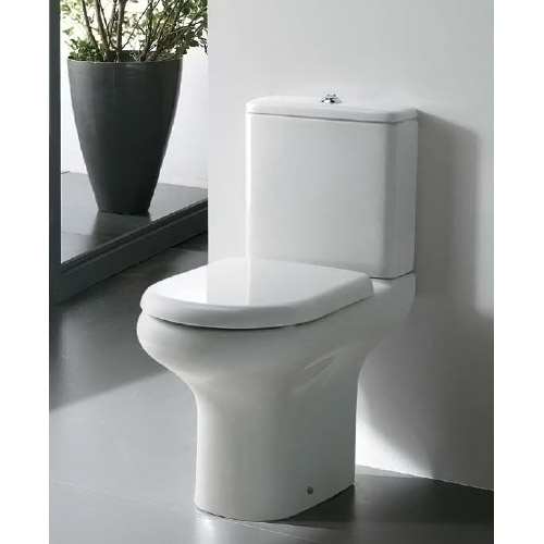 RAK Compact Close Coupled Toilet with Soft Close Seat Feature Large Image