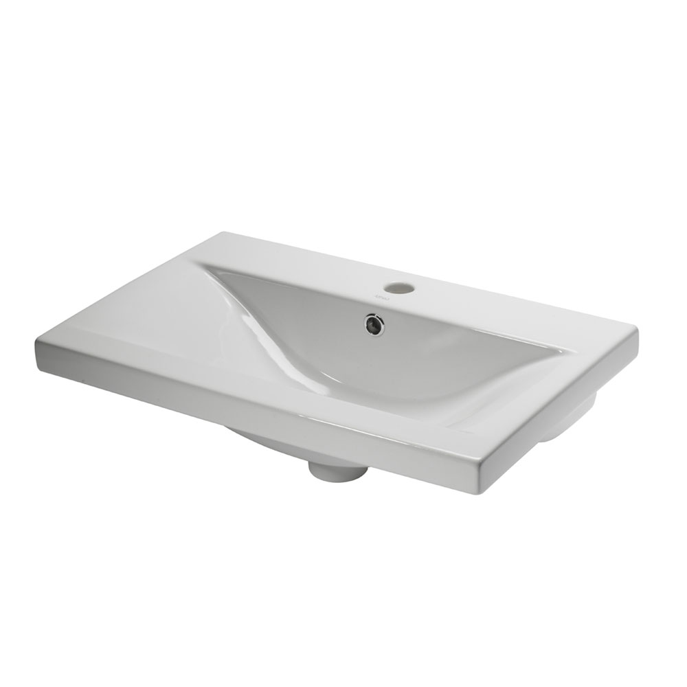 Roper Rhodes 600mm Ceramic Basin - CON600W Large Image