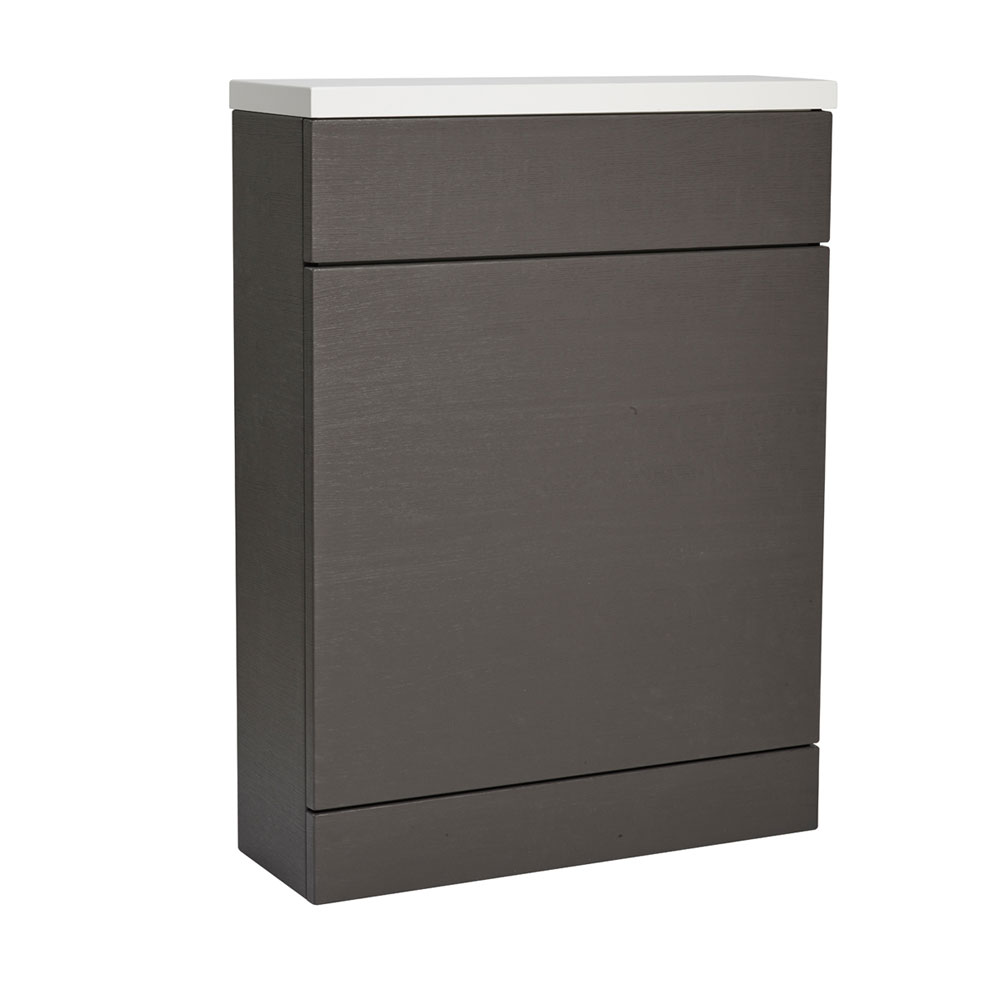 Roper Rhodes 600mm Back to Wall WC Unit & Worktop - Charcoal Elm Large Image