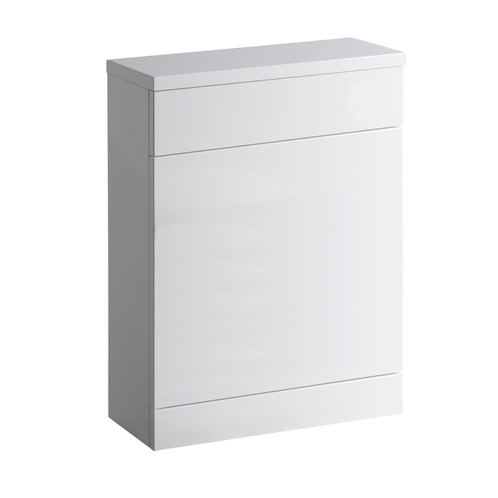 Roper Rhodes 600mm Back to Wall WC Unit & Worktop - Gloss White profile large image view 1