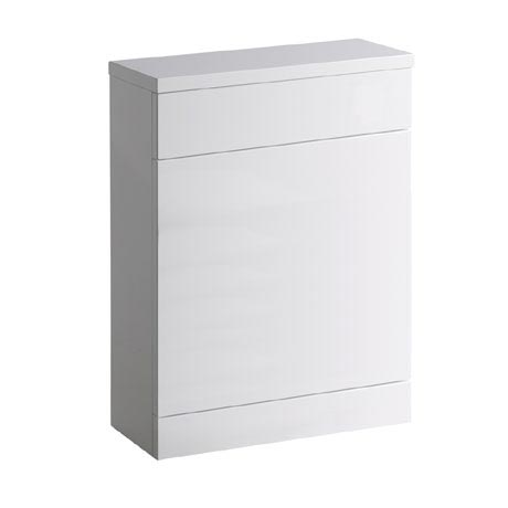 Roper Rhodes 600mm Back to Wall WC Unit & Worktop - Gloss White