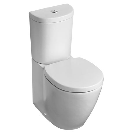 Ideal Standard Concept Space Arc Close Coupled Back to Wall Toilet