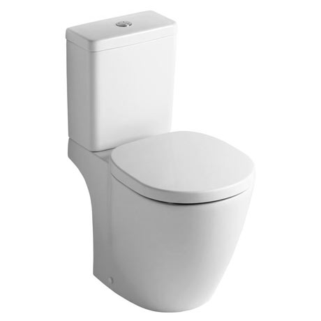 Ideal Standard Concept Space Cube Close Coupled Toilet