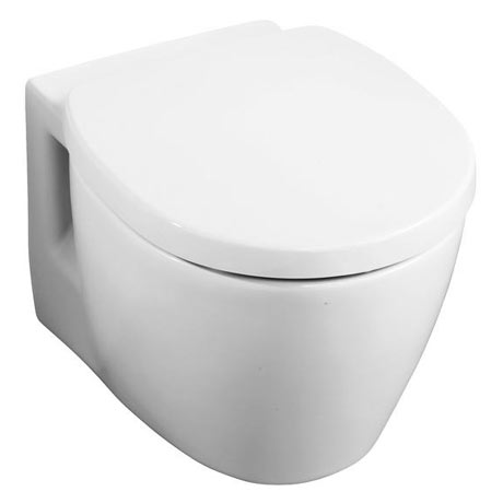 Ideal Standard Concept Space Compact Wall Hung Toilet