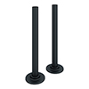 180mm Anthracite Tubes + Plates for Radiator Valves profile small image view 1