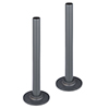 180mm Grey Tubes + Plates for Radiator Valves profile small image view 1