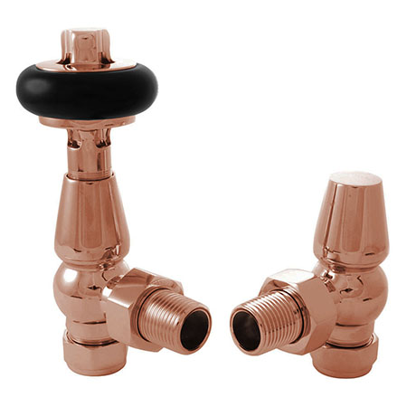 Bloomsbury Traditional Copper Thermostatic Radiator Valve