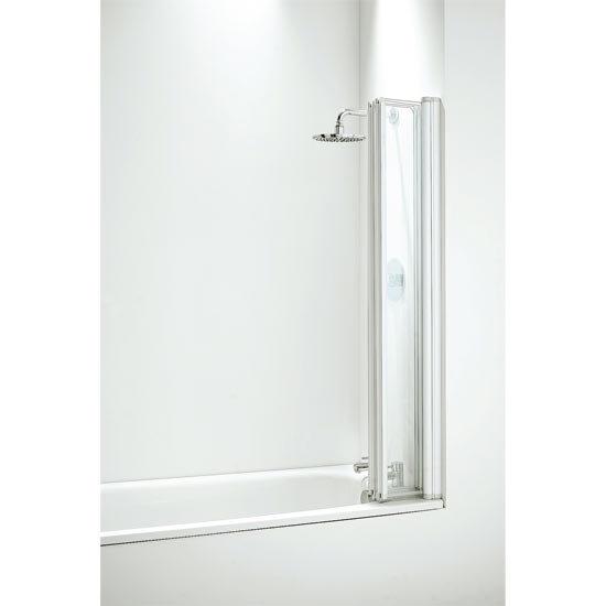 Coram - Four Panel Folding Bathscreens - 2 Colour Options Profile Large Image