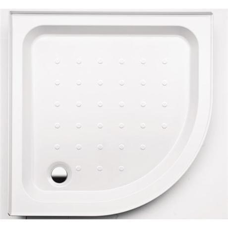 Coram - Universal Quadrant Shower Tray with Upstands & Waste - 2 Size Options