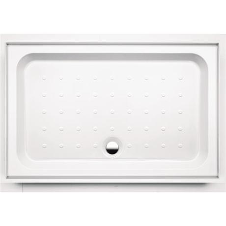 Coram - Universal Rectangular Shower Tray with Upstands & Waste - 4 Size Options