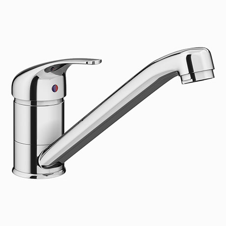 Neptune Single Lever Kitchen Sink Mixer Tap with Swivel Spout