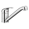 Neptune Single Lever Kitchen Sink Mixer Tap with Swivel Spout profile small image view 1