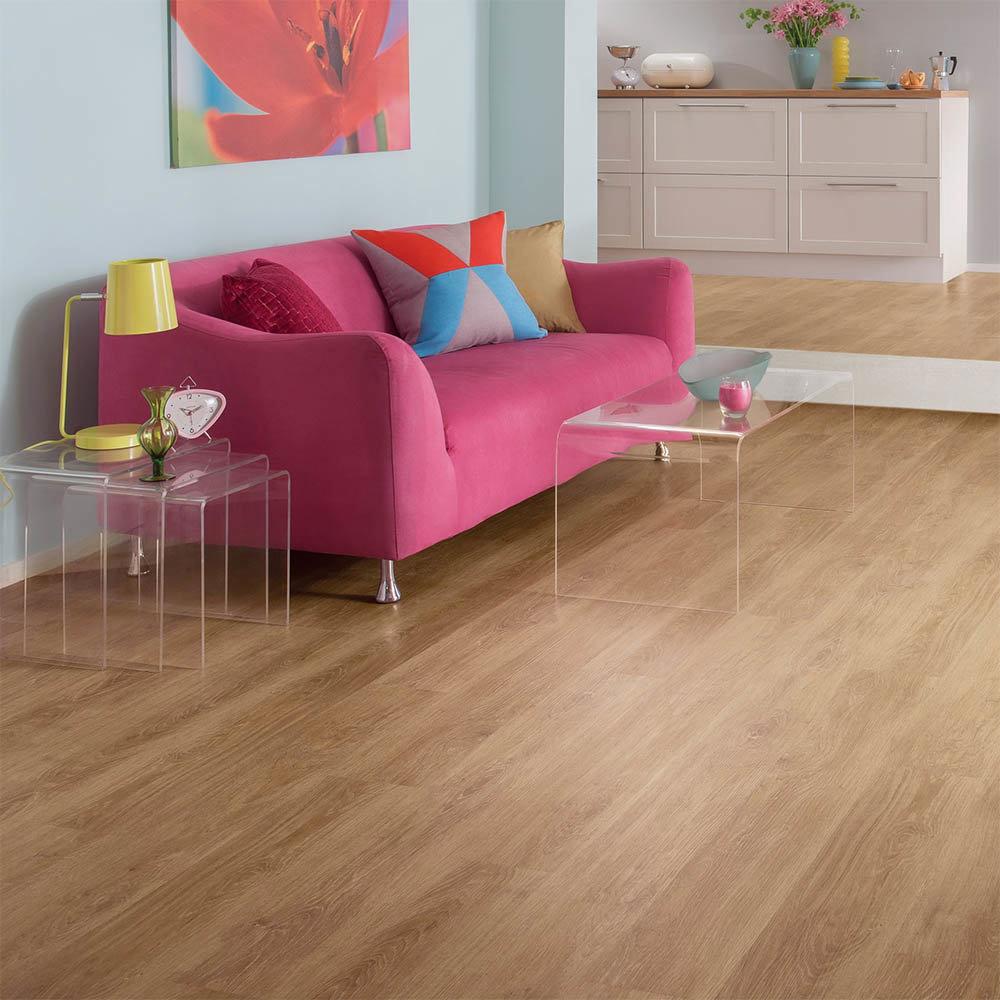 Karndean Palio Clic Montieri 1220 x 179mm Vinyl Plank Flooring - CP4504  In Bathroom Large Image