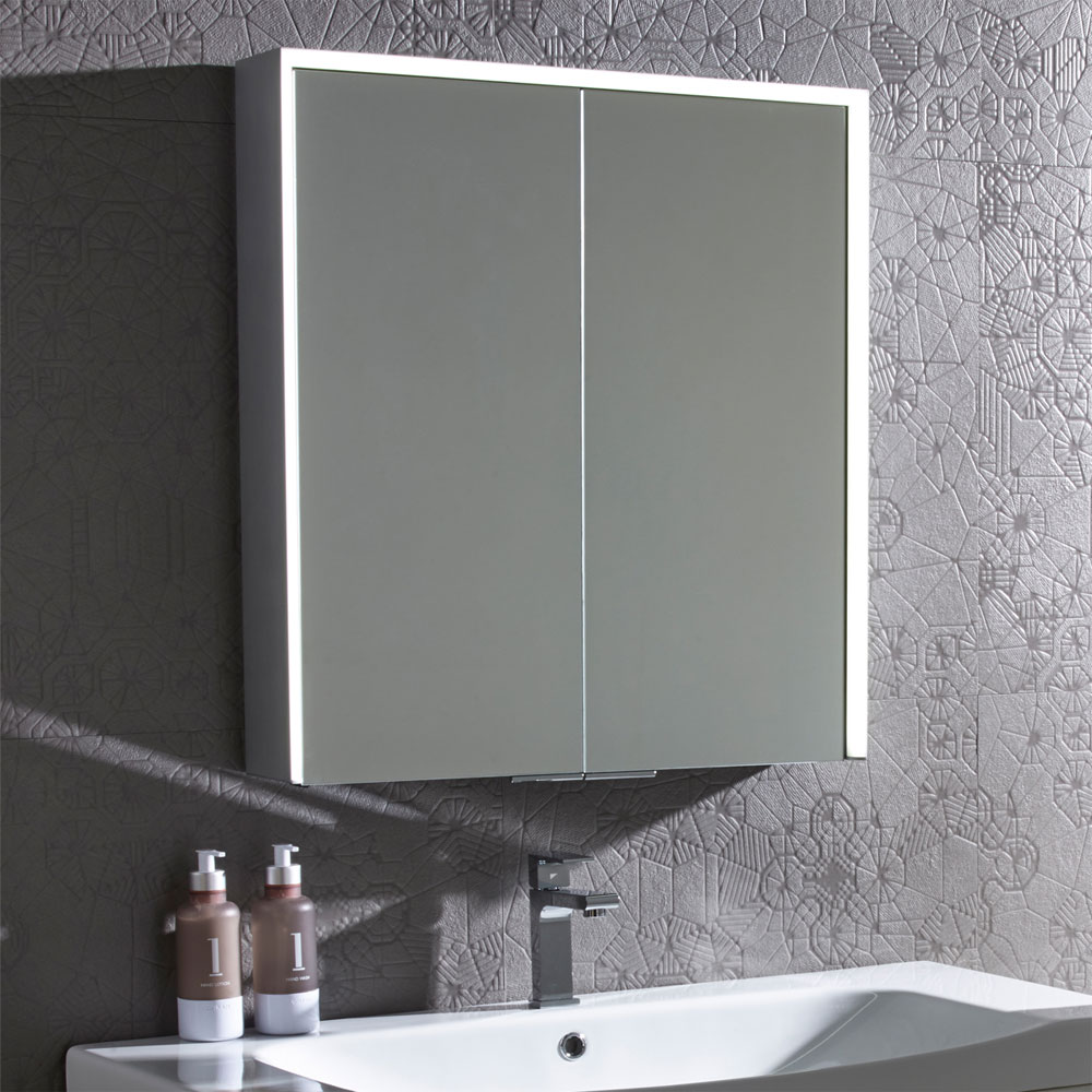 Roper Rhodes Compose Bluetooth Illuminated Mirror Cabinet - CP65AL Feature Large Image