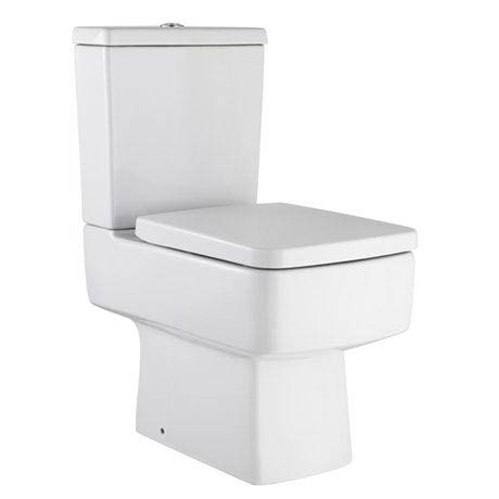 Hudson Reed Square Close Coupled Toilet