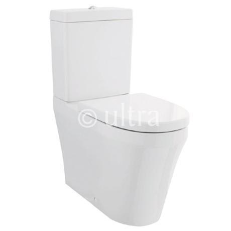 ultra comfort height btw toilet with softclose seat