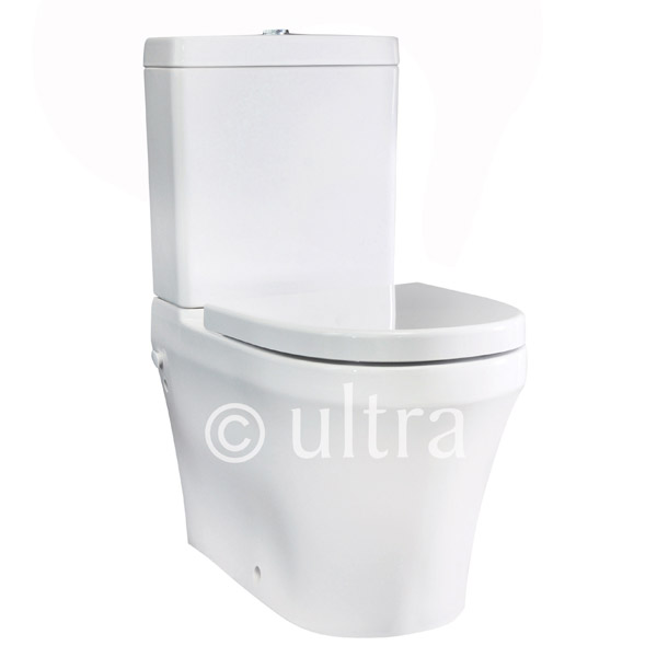 Ultra - Priory BTW Close-Coupled Toilet with Soft-Close Seat Large Image