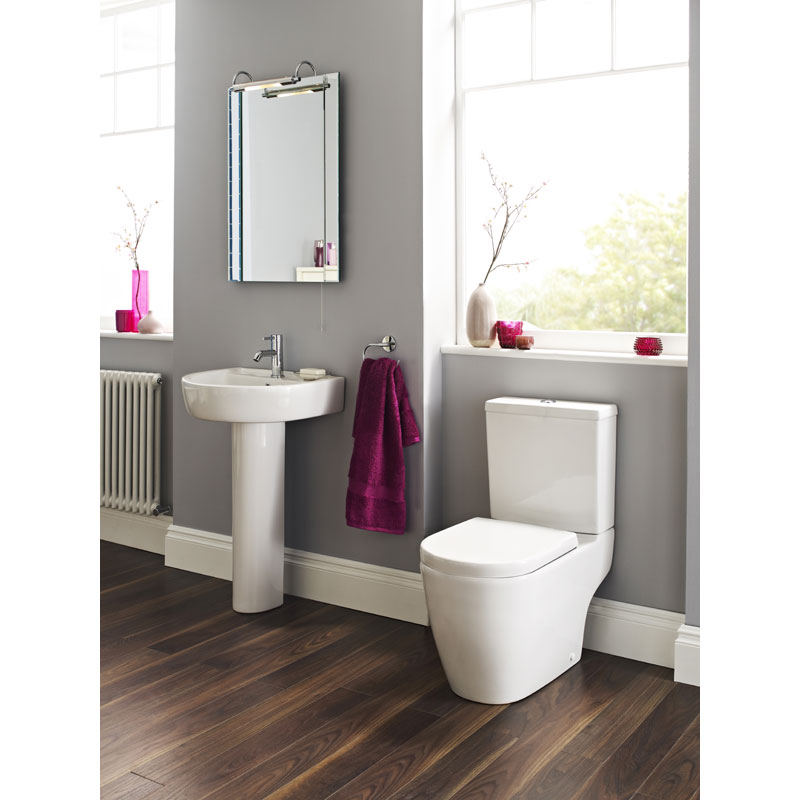 Ultra - Orb Close Coupled Toilet with Soft Close Seat Profile Large Image
