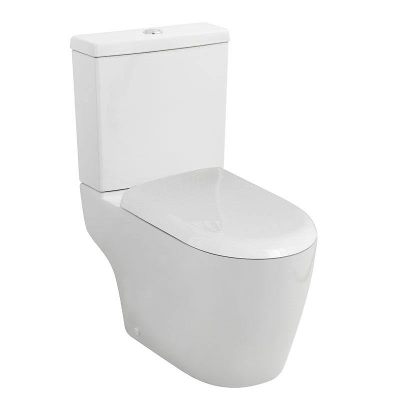 Ultra - Orb Close Coupled Toilet with Soft Close Seat Large Image