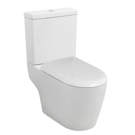 Ultra - Orb Close Coupled Toilet with Soft Close Seat