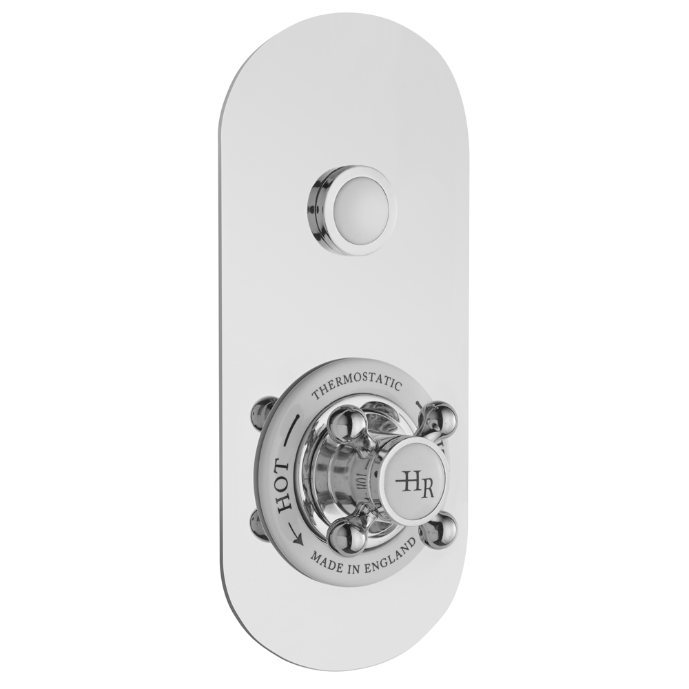 Hudson Reed Topaz Traditional One Outlet Push-Button Shower Valve - CPB5310