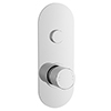 Nuie Round Push Button Shower Valve - One Outlet - CPB8310 profile small image view 1