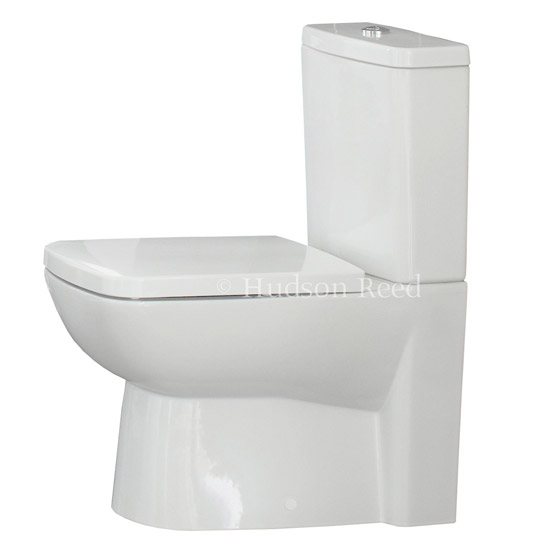 Hudson Reed - Compact Close-Coupled Toilet inc Soft-Close Seat profile large image view 2