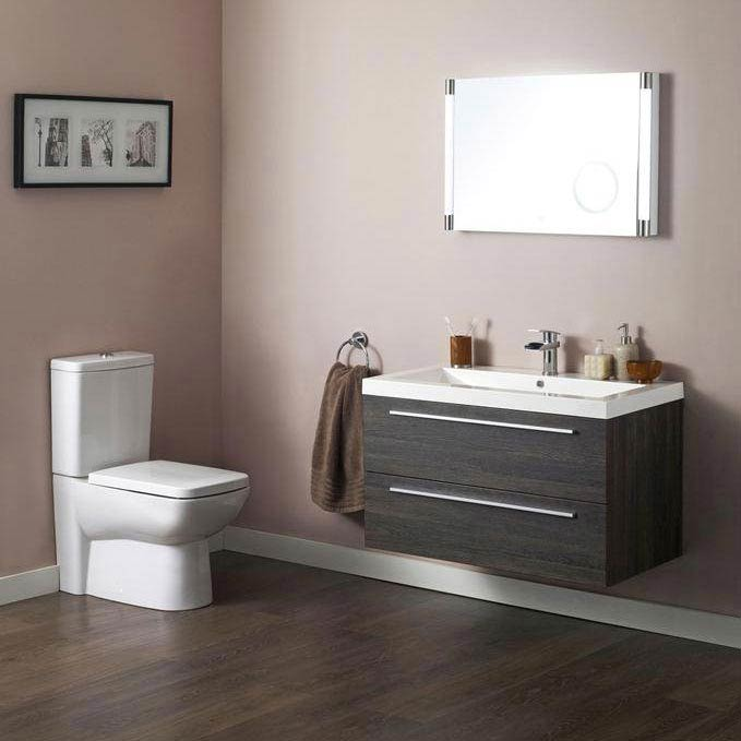 Hudson Reed - Compact Close-Coupled Toilet inc Soft-Close Seat profile large image view 4