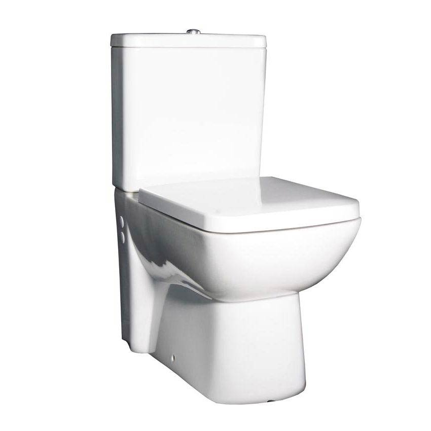 Hudson Reed - Compact Close-Coupled Toilet inc Soft-Close Seat Large Image