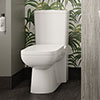 Hudson Reed Arlo Flush to Wall Toilet + Soft Close Seat Small Image