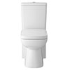Hudson Reed Arlo Compact Flush to Wall Toilet + Soft Close Seat Small Image