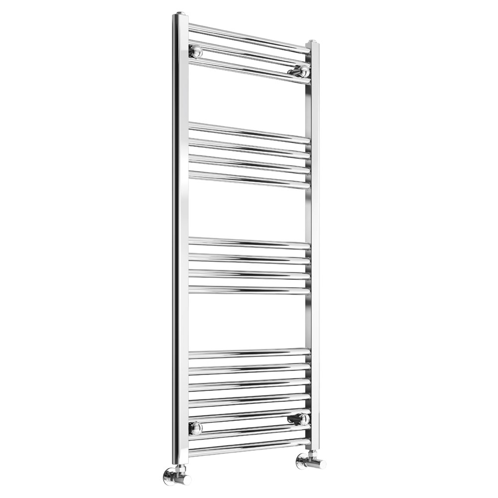 Reina Capo Curved Towel Rail - Chrome profile large image view 1
