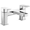 Turin Modern Chrome Bath Filler Tap - CPT7135 profile small image view 1