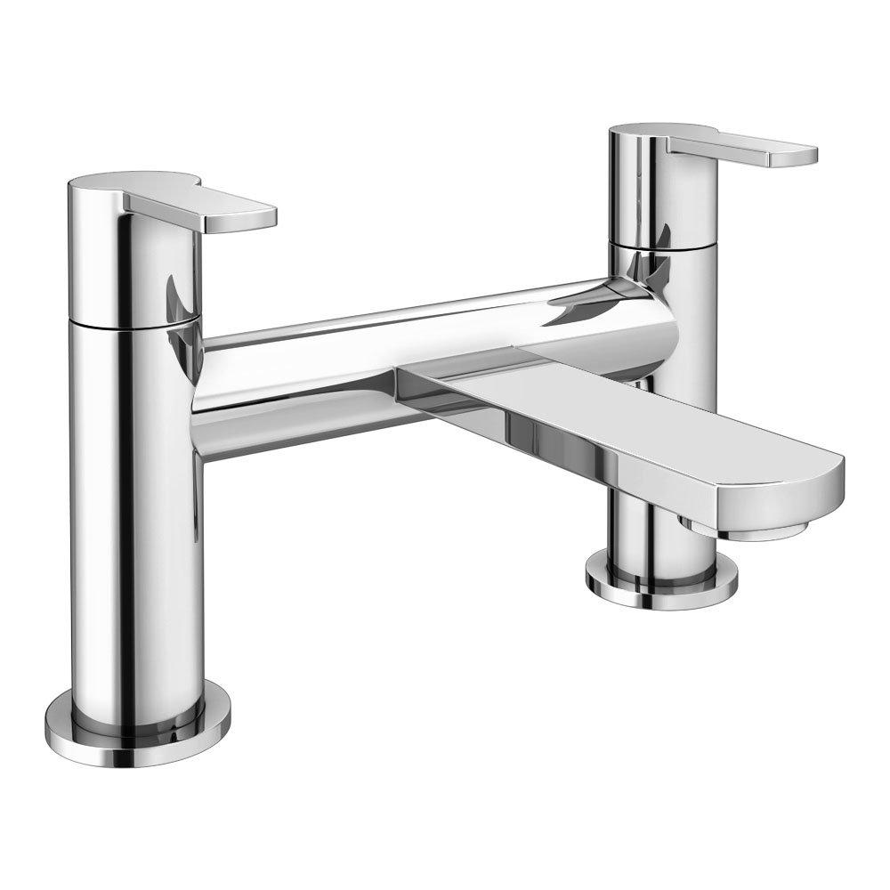 Brooklyn Modern Chrome Bath Filler Tap - CPT7185