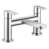 Brooklyn Modern Chrome Bath Filler Tap - CPT7185 profile small image view 1