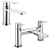 Brooklyn Modern Tap Package (Bath Filler + Basin Tap) profile small image view 1