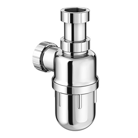 Chrome Plated Plastic Universal Telescopic Basin Bottle Trap