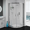 Cove Quadrant Shower Enclosure with Tray + Waste (2 Size Options) Small Image